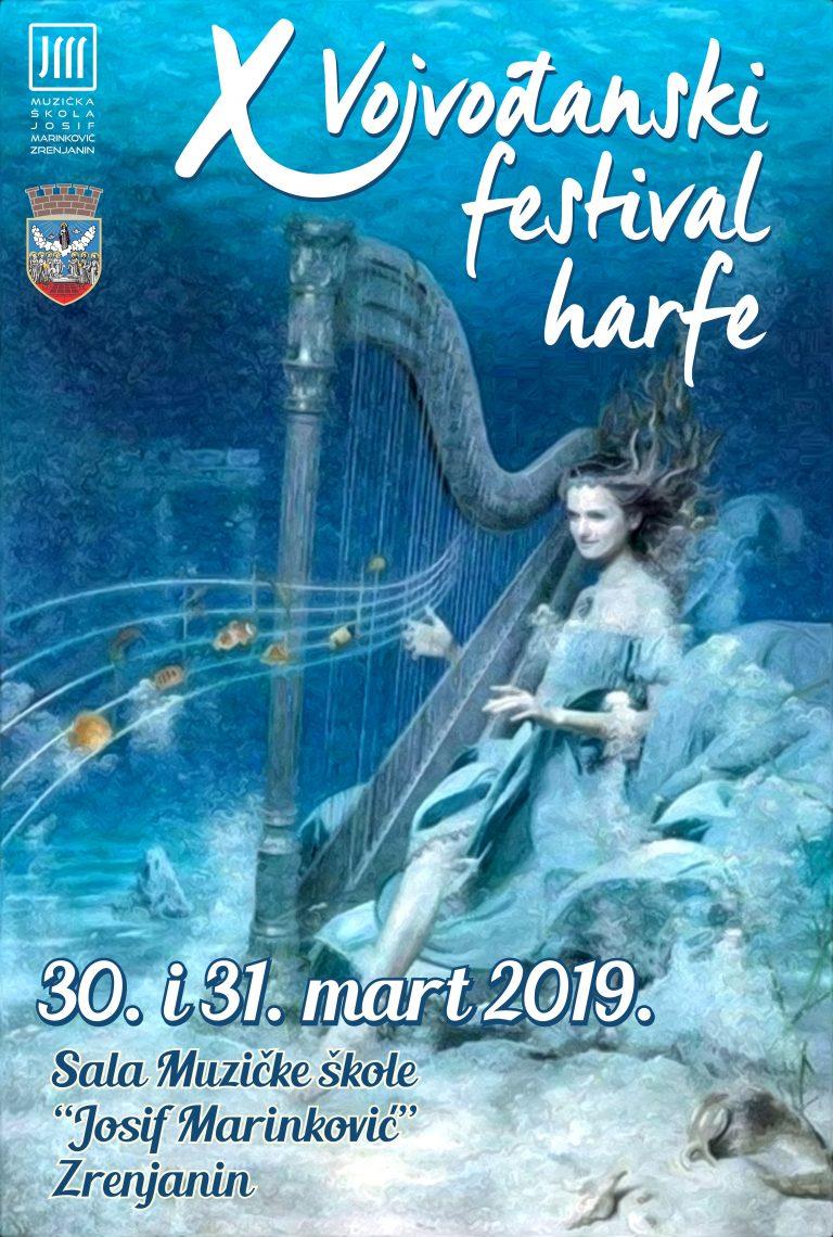 Plakat Harfa X